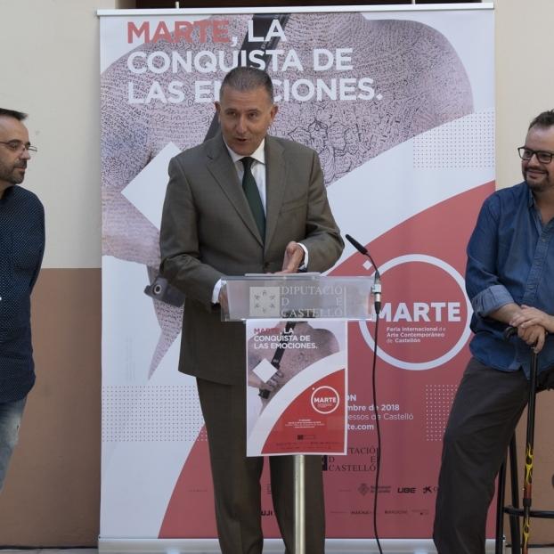 Es multipliquen les posibilitats culturals amb la V Feria Internacional d'Art Contemporani MARTE