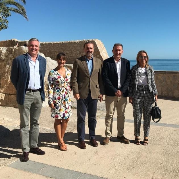 La Diputación impulsará la internacionalización del Castillo de Peñíscola