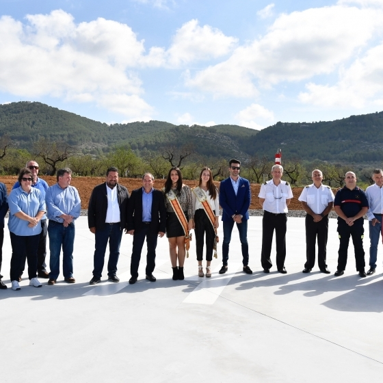 Diputación avanza su Plan Provincial de Helisuperficies a favor de la atención médica urgente