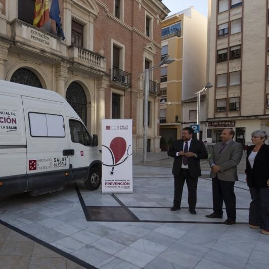 Diputación comenzará las revisiones oculares de Salut al Poble