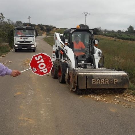 Diputación trabaja en más de medio centenar de tramos de carreteras de la provincia