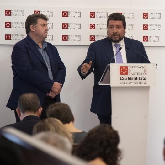 Moliner anuncia més de 800.000 euros d'ajudes per les pluges