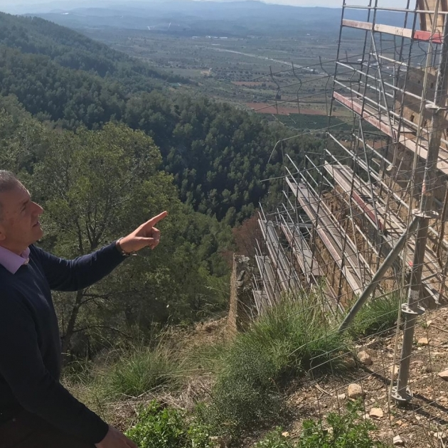 Diputació inicia les obres en el Castillo de Xivert