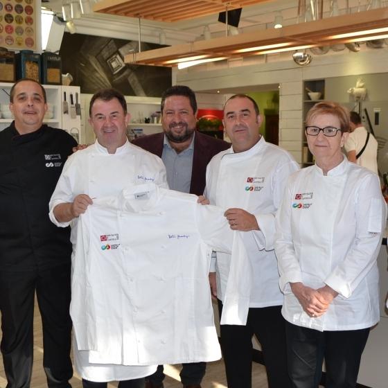 Martín Berasategui inaugurará la I Feria Castelló Ruta de Sabor
