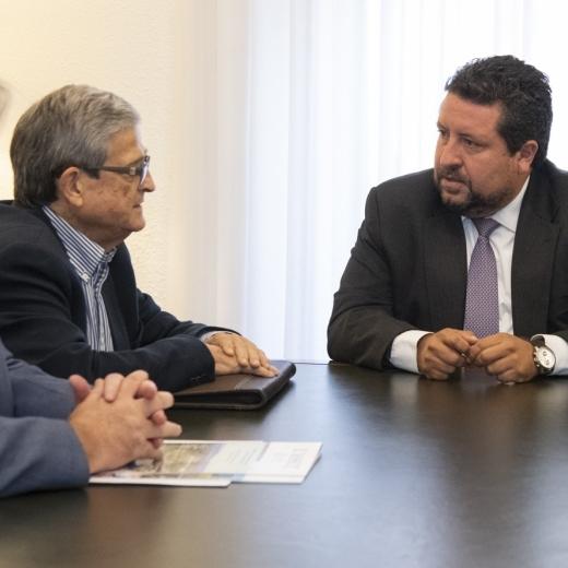 Diputación y la Federación de Comunidades de Regantes colaboran para apoyar al sector primario