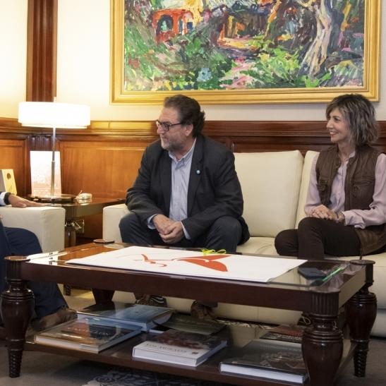 Diputación respalda la actividad de la Asociación de Alzheimer de Castellón