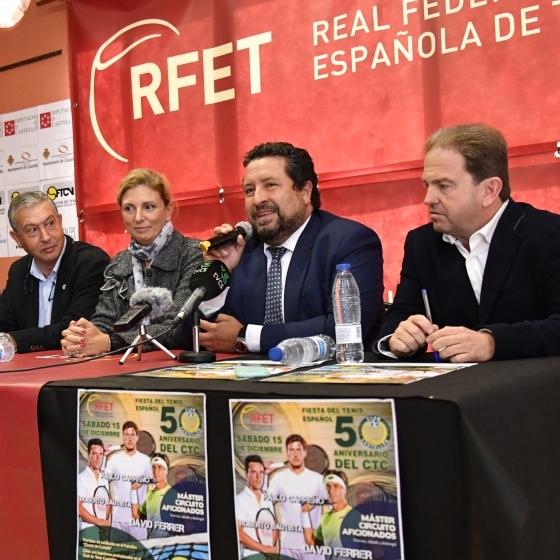 Diputación y el Club de Tenis Castellón colaboran en la conmemoración de su 50 aniversario