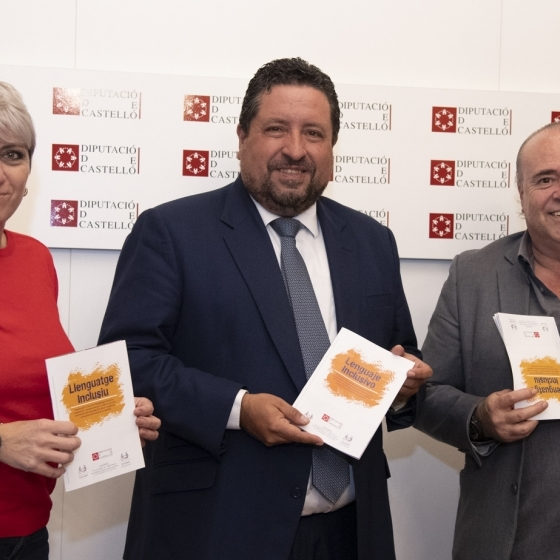 Diputación y COCEMFE promueven el uso de lenguaje inclusivo