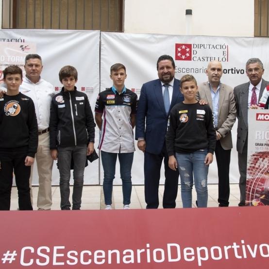Diputació impulsa el talent dels joves pilots castellonencs