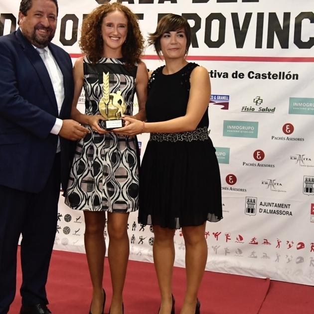 Moliner reforça Castelló com el millor escenari esportiu en la XXII Gala de l'Esport Provincial