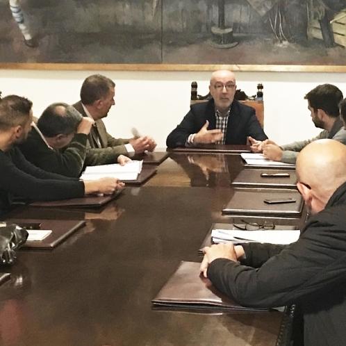 Diputació es reuneix amb l'Ajuntament de Castelló per a iniciar les obres del Pablo Herrera