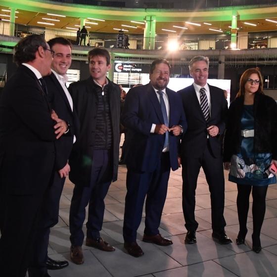 Moliner participa en la inauguración del nuevo centro comercial Estepark en Castellón