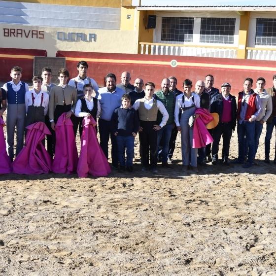 La Escuela Taurina de la Diputación concluye su curso con gran actividad