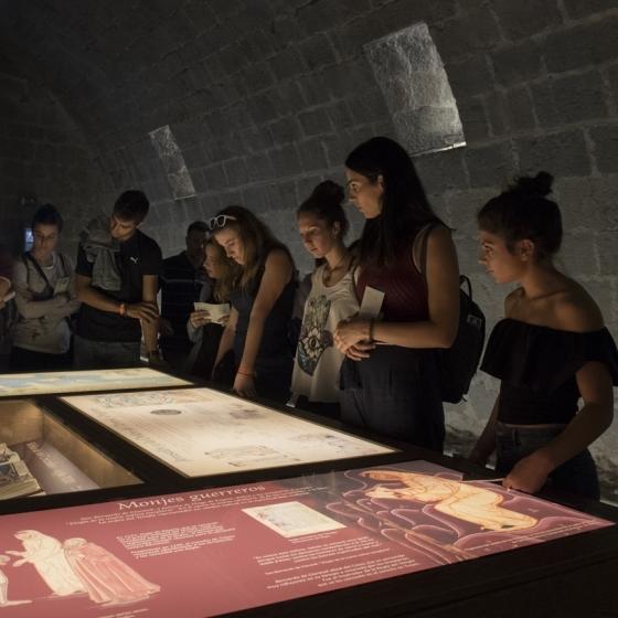 La Diputació arranca el seu innovador programa de visites escolars al Castell de Peníscola