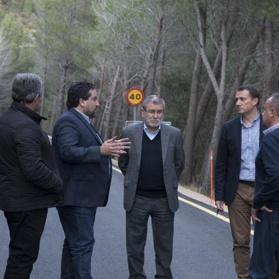 Diputación previene los efectos del frío con un Plan de Seguridad Vial extraordinario en 200 km