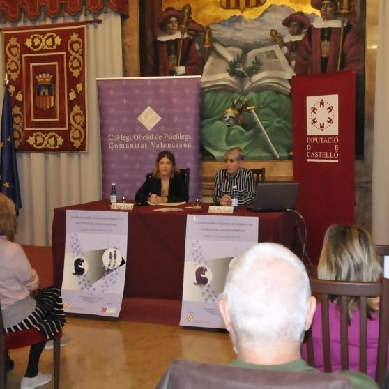 Diputación refuerza su trabajo con los psicólogos en la lucha contra la violencia de género
