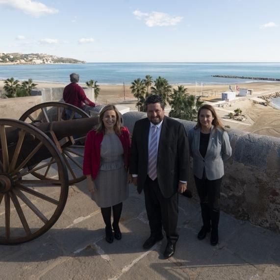 La Diputació crea amb el Centre d'Interpretació de la Torre Sant Vicent de Benicàssim