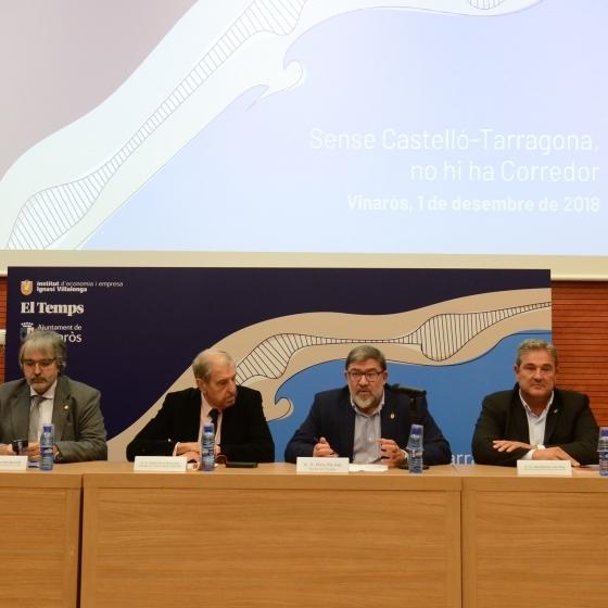 La Diputación defiende la necesidad de terminar la autovía de Castellón-Cataluña