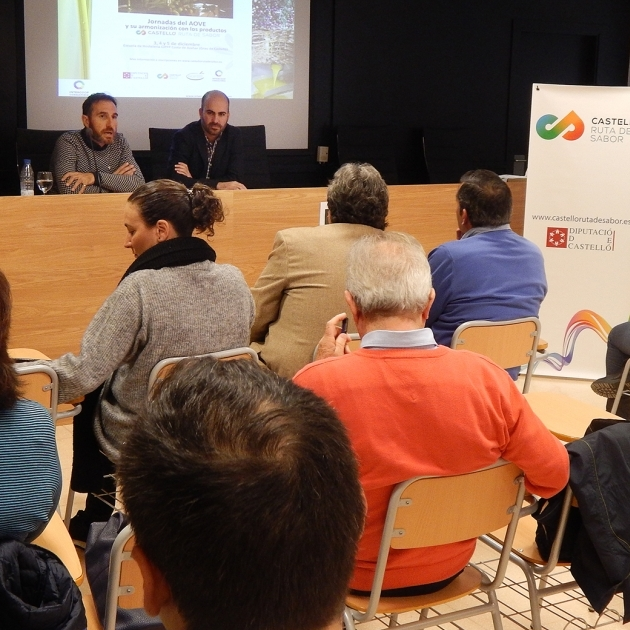 La Diputación promociona la calidad del aceite de Castellón entre prescriptores especializados