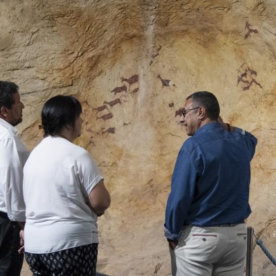 Diputació impulsa el potencial turístic de l'art rupestre de la Valltorta