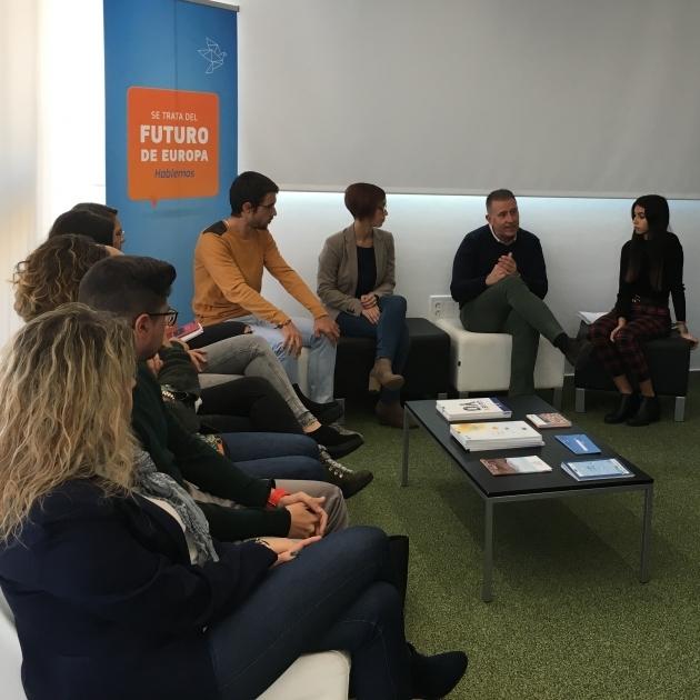 Diputació projecta els valors de la UE en la societat de Castelló