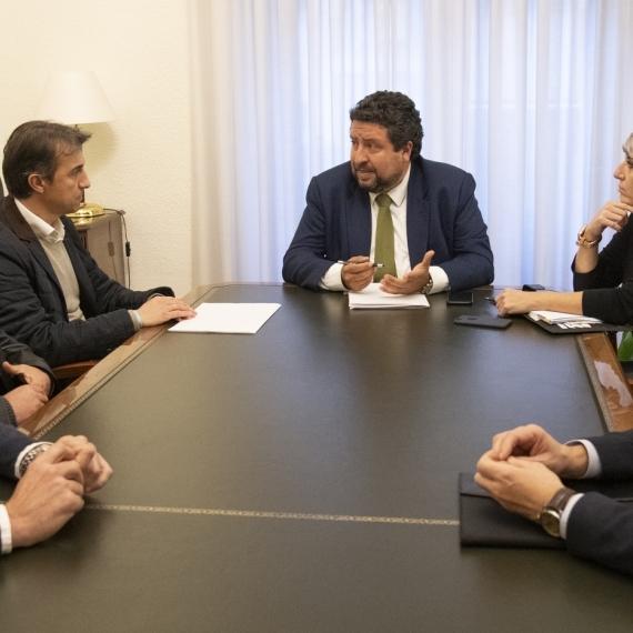 Moliner reafirma el apoyo de la Diputación ante las movilizaciones citrícolas