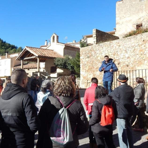 Diputación descubre el patrimonio de Camins de Penyagolosa a cientos de personas
