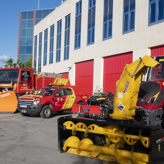 El Consorci Provincial de Bombers incorpora nous vehicles especialitzats