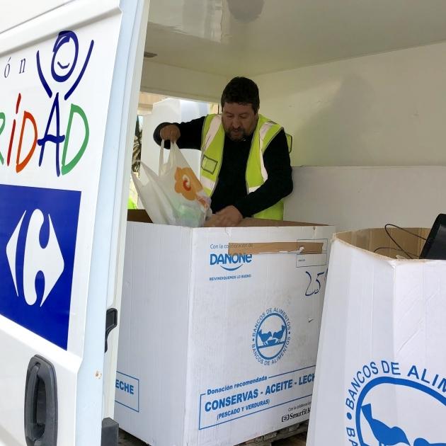 Diputació col·labora amb el Banc d'Aliments de Castelló
