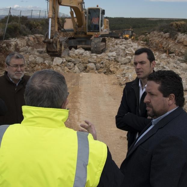 Diputación comenzará 2019 reforzando los trabajos en las carreteras para mejorar la seguridad vial