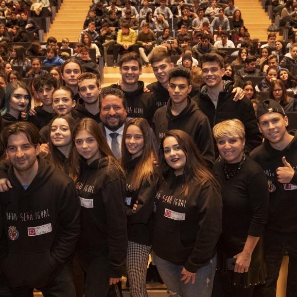 Diputació lidera la lluita contra la violència amb més de 4.000 estudiants