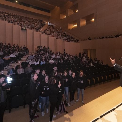 Diputación prevé sensibilizar contra la violencia al 85% de los estudiantes