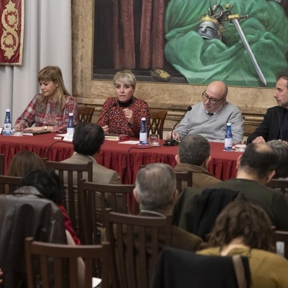 Diputación acoge una conferencia sobre la Constitución