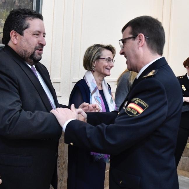 Moliner participa en el acto de presentación de Emilio Romero