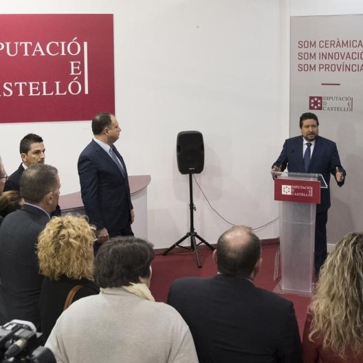 Diputación promociona la gastronomía autóctona en Cevisama con Castelló Ruta de Sabor