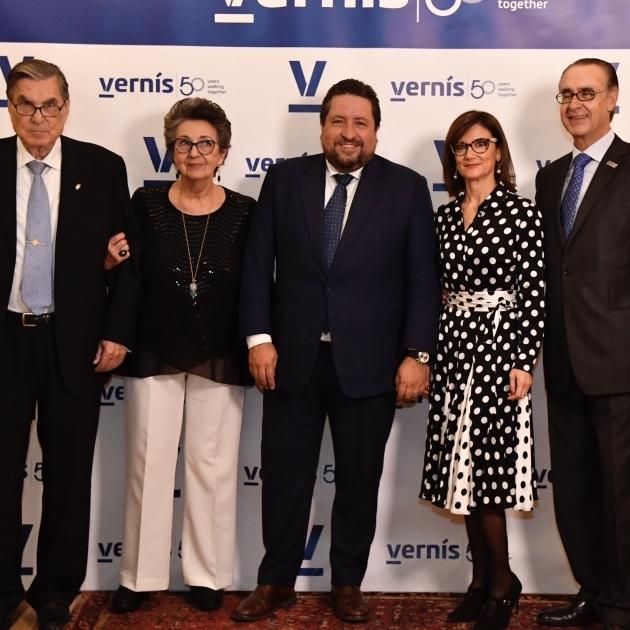 Moliner participa en la conmemoración del 50 aniversario de Vernís