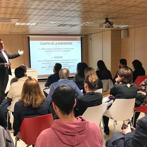 Diputació desperta l'interés de 12 col·lectius per a desenvolupar projectes innovadors