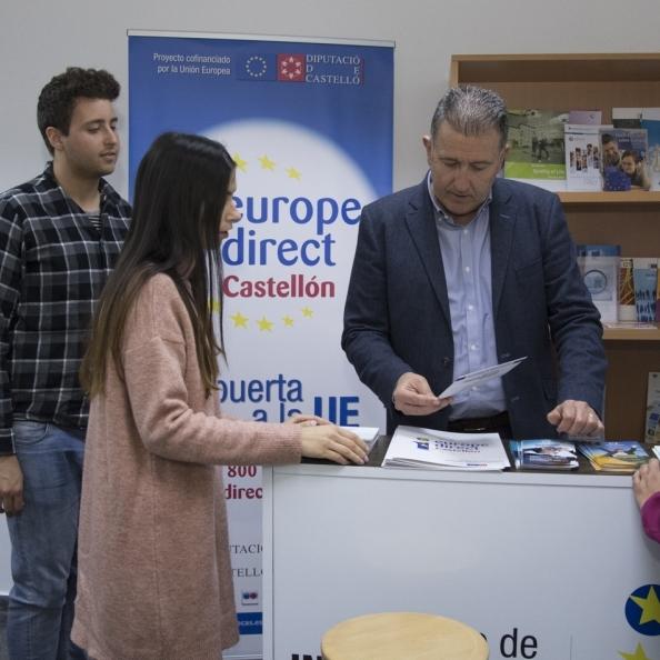 Diputación convoca el ciclo 'Diálogos por Europa'