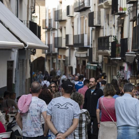 Diputación aumentar la llegada de visitantes casi un 50% en cuatro años