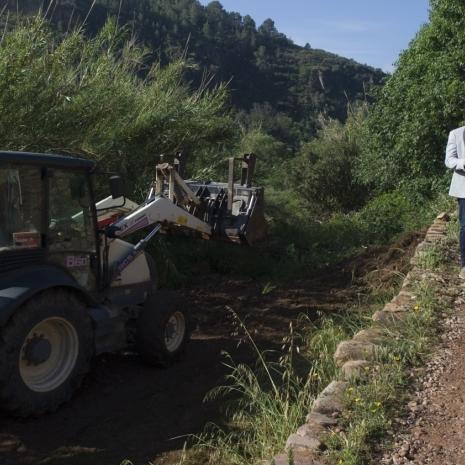 Diputación prevé rehabilitar más de 1.500 km de caminos rurales
