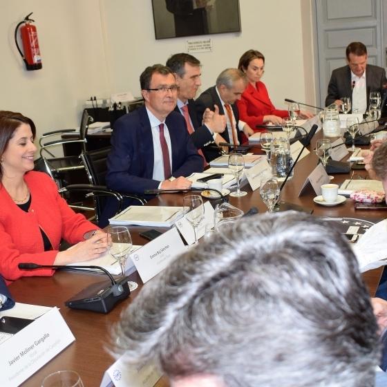 Moliner concluye la legislatura en la FEMP