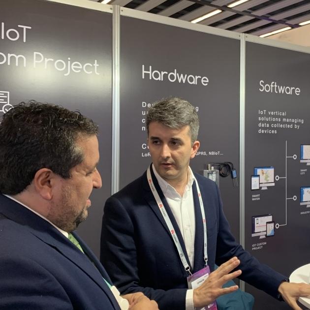 Moliner reforça el suport al clúster tecnològic provincial en el Mobile World Congress