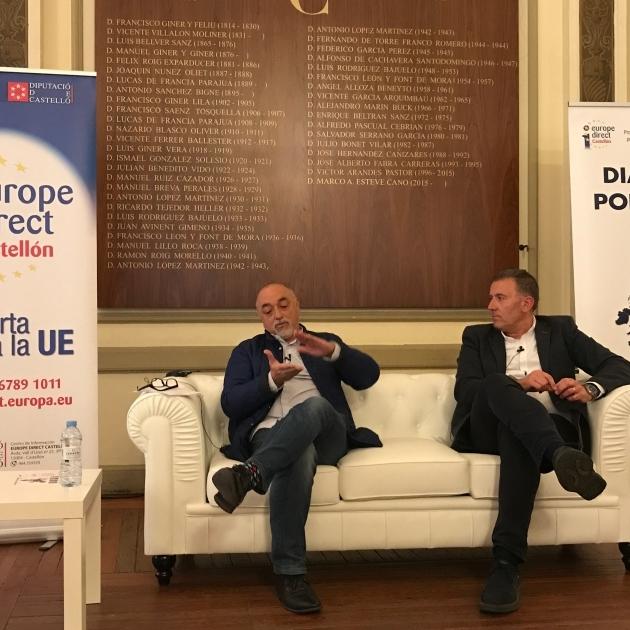 Diputación aborda en su ciclo 'Diálogos por Europa' las oportunidades laborales