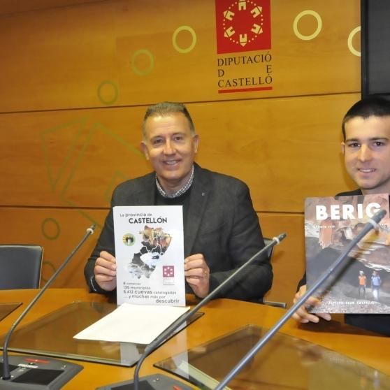 Diputación contribuye a divulgar la labor científica y deportiva del Espeleo Club Castelló