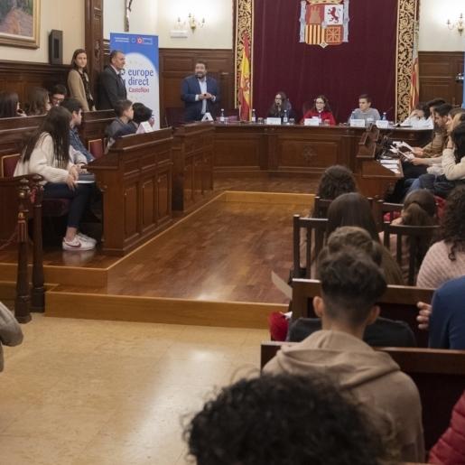 """Diputación acogerá mañana el debate """"Elecciones europeas: #CSestavezvota"""""""