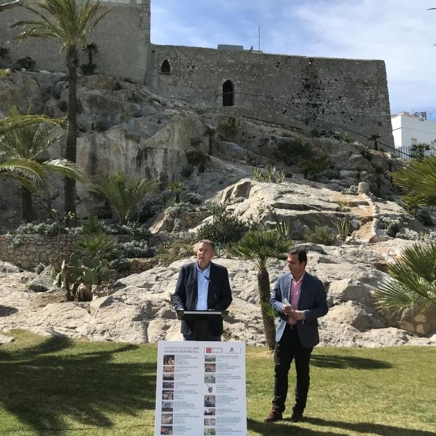 Diputación consolida el Castillo de Peñíscola como referente del turismo cultural