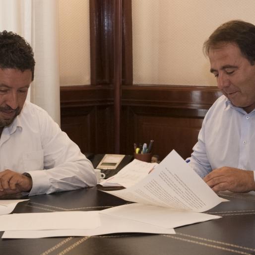 Diputación se alía con FEDETCAS para impulsar el desarrollo y la dinamización del medio rural