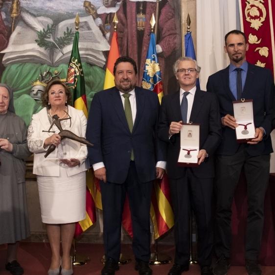 Moliner reivindica en el Día de la Provincia que ha trabajado por el orgullo de ser de Castellón