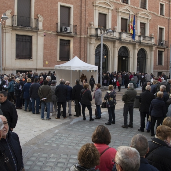 Centenars de persones majors sol·liciten la seua plaça en el Castelló Sènior de la Diputació