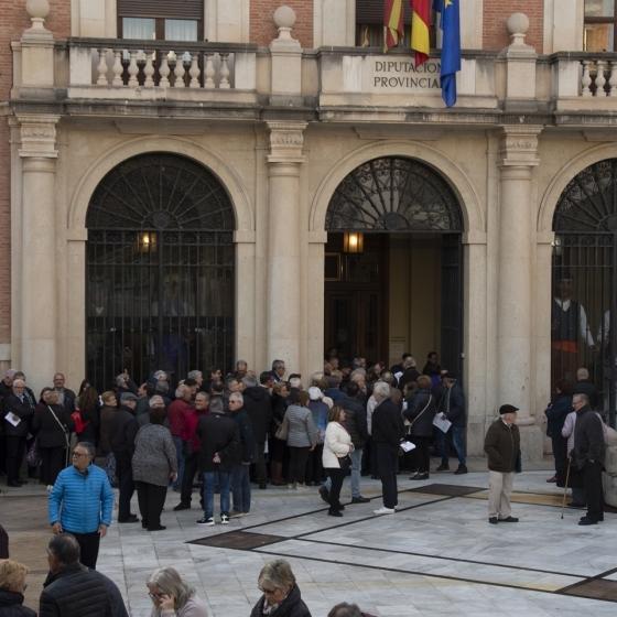 Más de 3.000 personas reservan su plaza el primer día para la inscripción al Castellón Senior